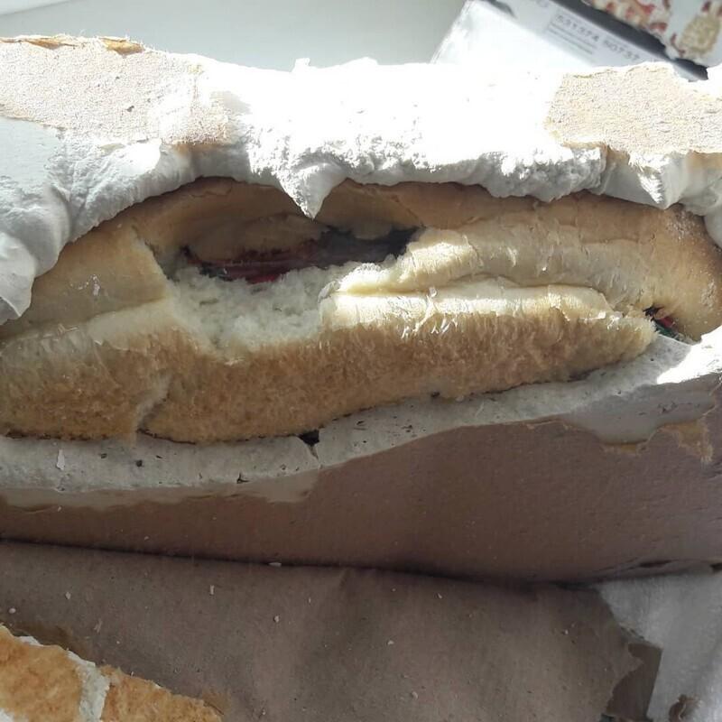 Двойной хлеб с сюрпризом