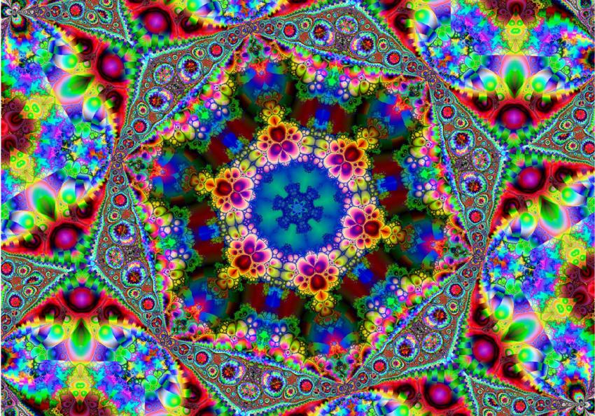 Калейдоскоп — это игрушка в форме трубы, представляющая собой оптический прибор. Внутри он обычно содержит 3 продольные, сложенные под определенным углом, зеркальца, а за ними находятся разные цветные элементы.