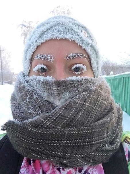 Холода в России порой лучше любой косметики