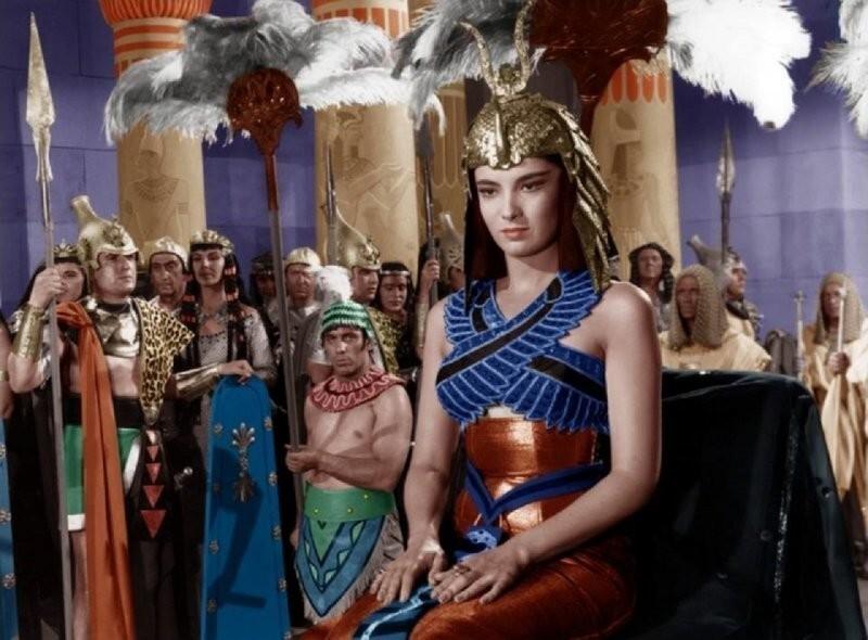 """Линда Кристал, """"Легионы Клеопатры"""", Италия, Франция, 1959"""