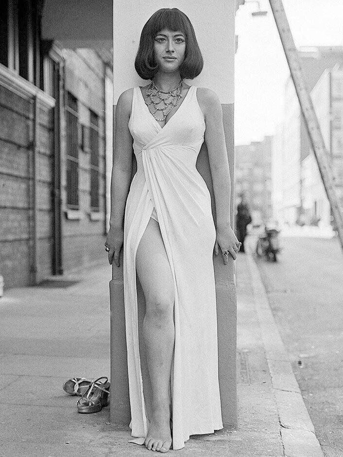 Хелен Миррен в образе Клеопатры, 1965 год