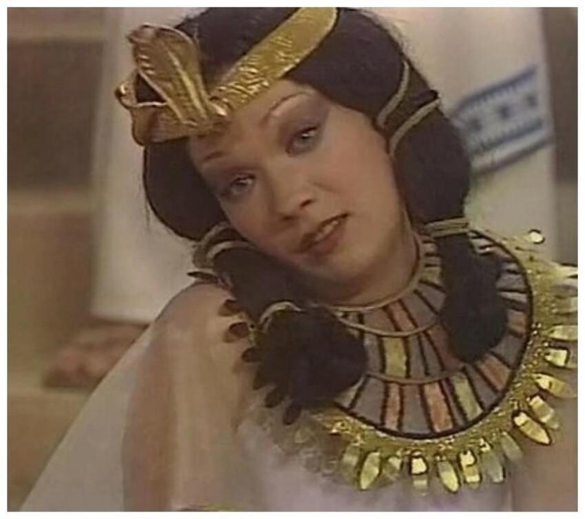 Елена Коренева, «Цезарь и Клеопатра» (ТВ), 1979