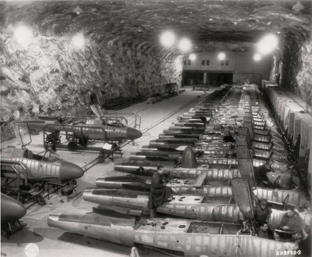 Секретный нацистский подземный завод, расположенный недалеко от Хинтербруля в Австрии