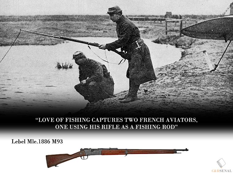 Огнестрельное оружие в Первой мировой войне. Сойдет и за удочку