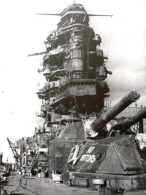"""Монстр японского военного флота - линкор """"Исэ"""""""