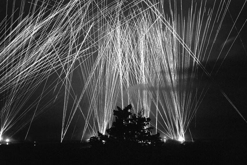 Зенитный огонь над Алжиром, 13 апреля 1943 года