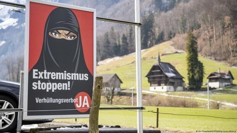 В Швейцарии запретили паранджи и никабы