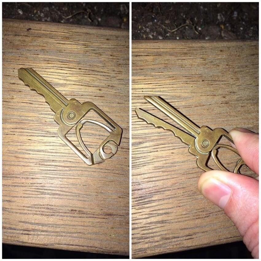 Странный ключ