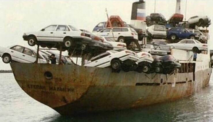 15. Японские авто отправляются в РФ, 1990-е