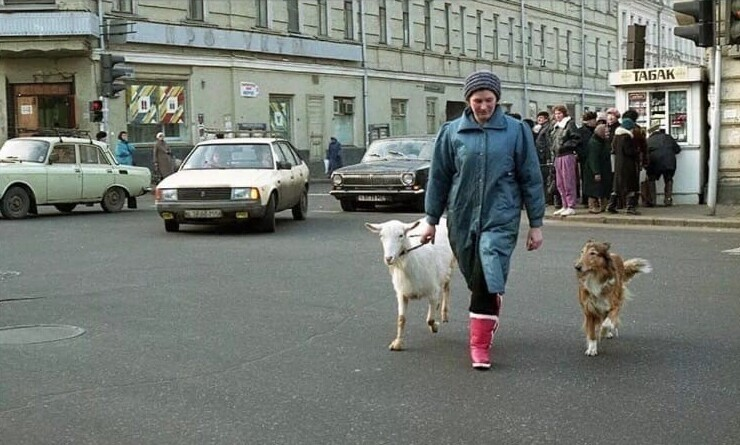 8. Сретенские Ворота, 1992 год, Москва
