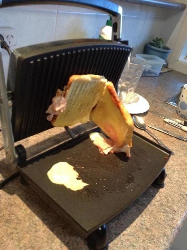 Я всего лишь хотел бутерброд