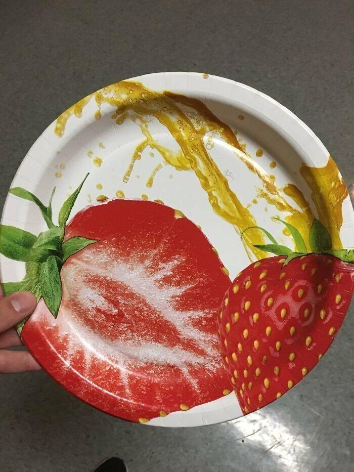 Тарелка для тех, кто сидит на диете