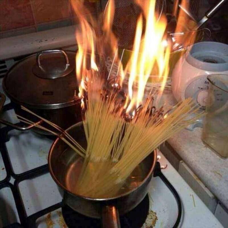 Как вам такой способ приготовления спагетти?