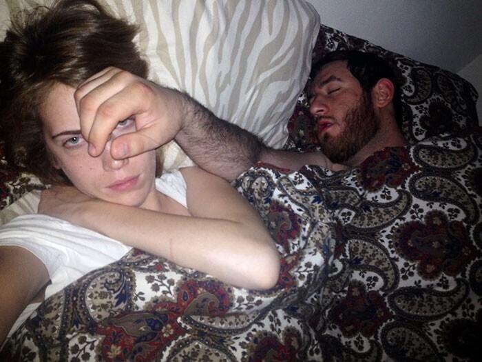 """""""Вот почему я не люблю спать с ним в одной кровати"""""""
