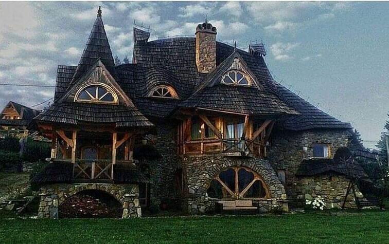 """""""Дом ведьмы"""", Польша"""