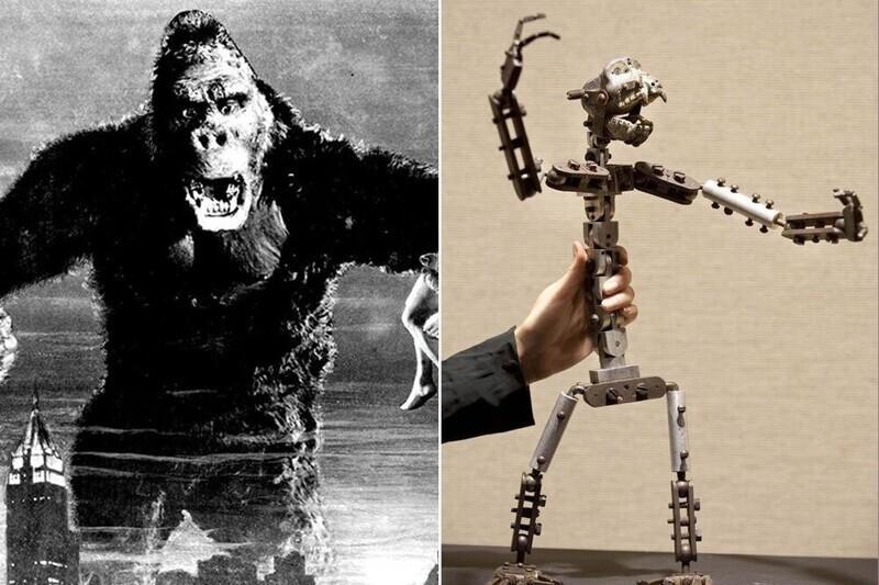 """Скелет Кинг-Конга - """"Кинг-Конг"""""""