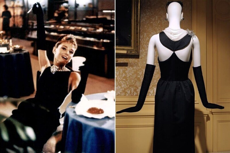 """Платье Одри Хэпберн - """"Завтрак у Тиффани"""""""