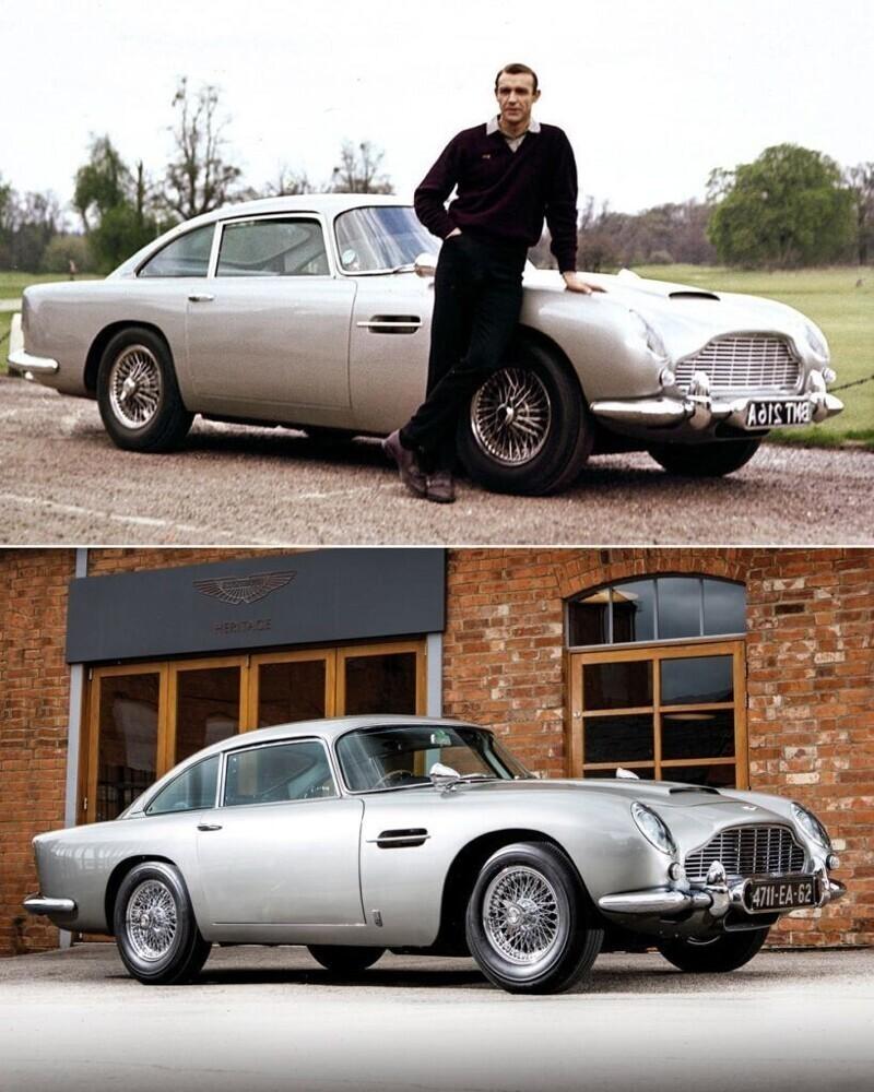 "Aston Martin Джеймса Бонда - ""Голдфингер"""