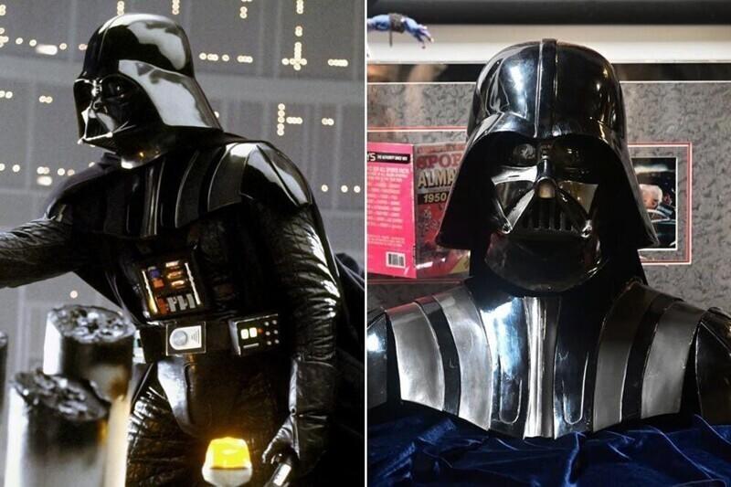 """Маска Дарта Вейдера - """"Звездные войны: Империя наносит ответный удар"""""""