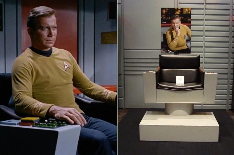 """Капитанское кресло - """"Звездный путь"""""""