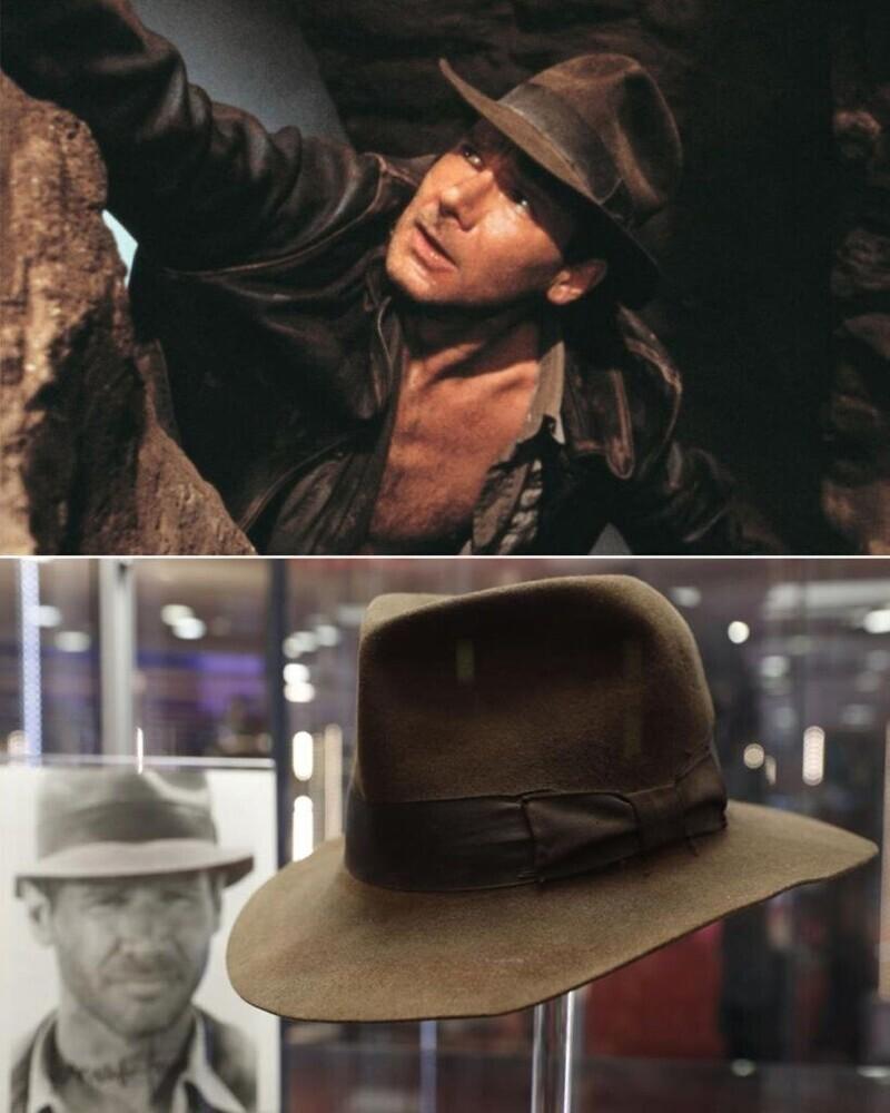 """Шляпа Индианы Джонса - """"Индиана Джонс: В поисках потерянного ковчега"""""""