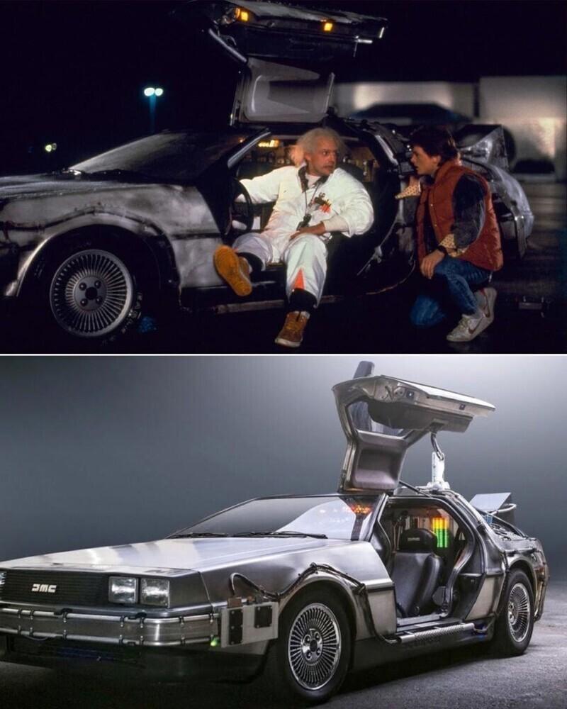 """Автомобиль DeLorean - """"Назад в будущее"""""""