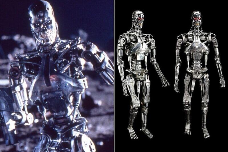 """Скелет киборга - """"Терминатор 2: Судный день"""""""