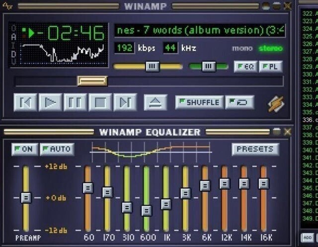 Плеер Winamp в 1997 году придумали Джастин Франкель и студент Дмитрий Болдырев