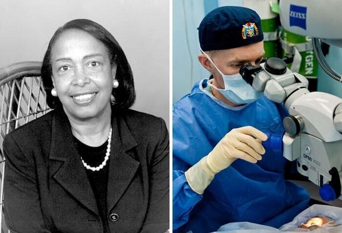 Патриция Бат - лазерная операция по удалению катаракты
