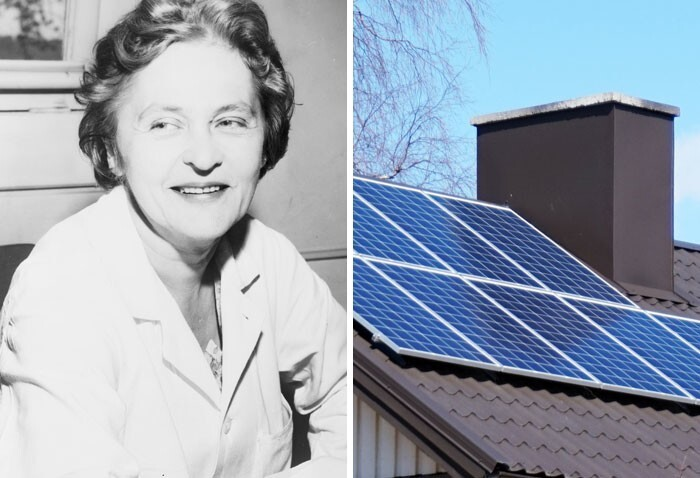 Мария Телкес и домашние солнечные батареи