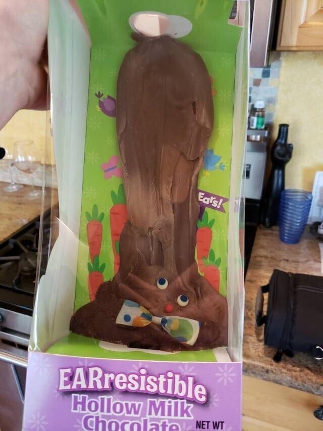 Что будет с шоколадным зайцем, если оставить его в машине на жаре