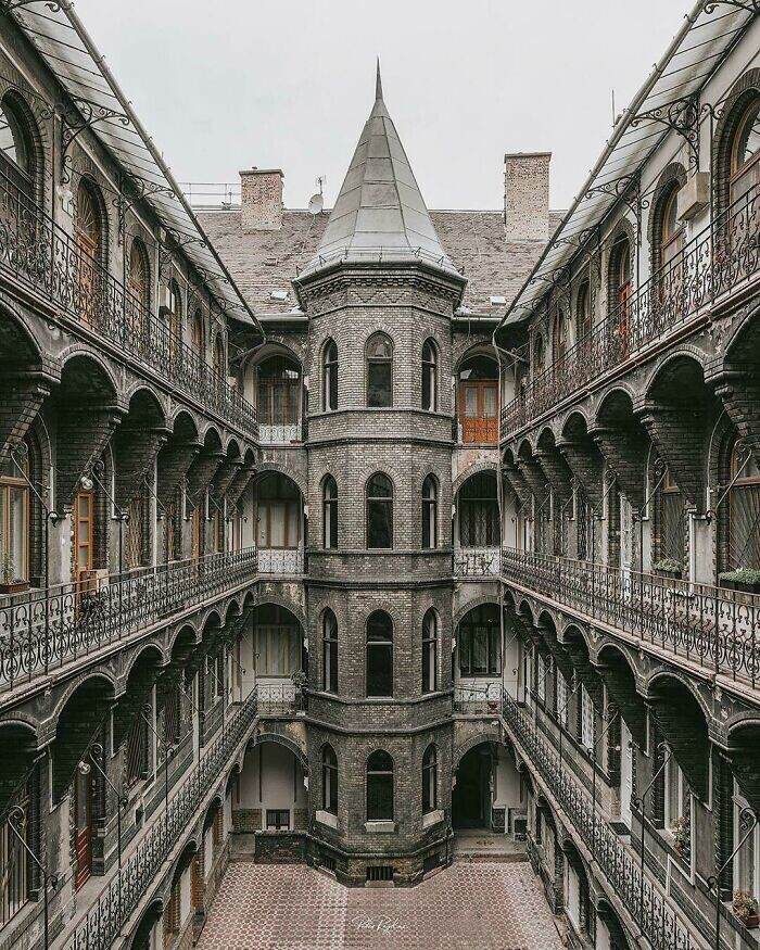 29. Неоготический дом в Будапеште, ок. 1894 г.