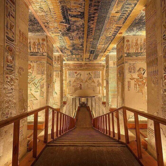 28. Гробница Рамсеса Ви, Долина царей, Египет