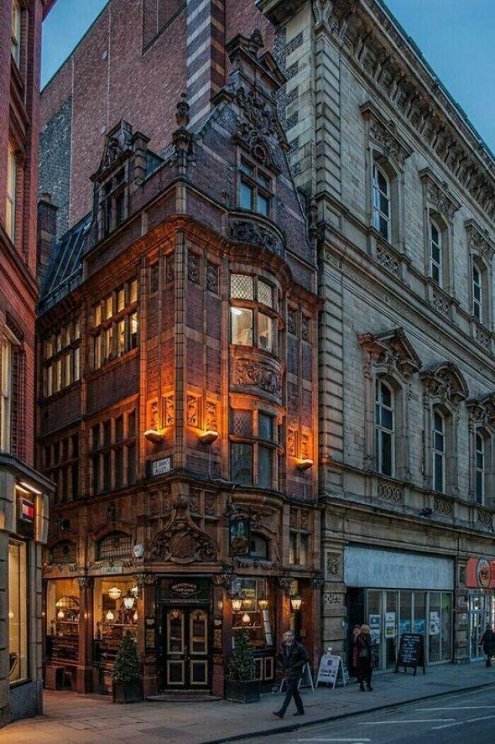 39. Ресторан Mr Thomas's Chop House. Манчестер. Построено в 1901 г.