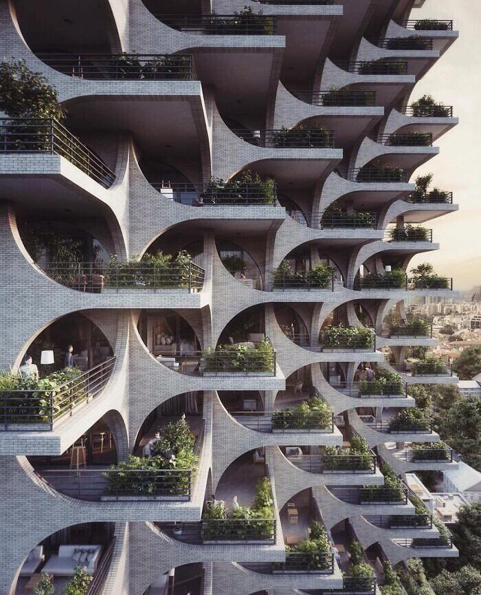 1. Многоквартирный дом в Тель-Авиве, Израиль