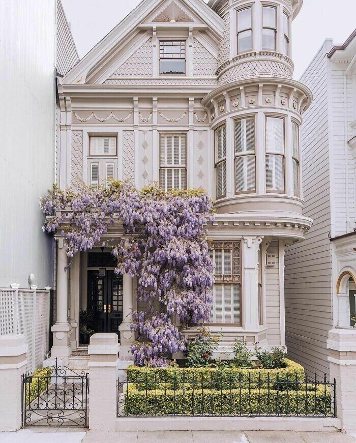 6. Викторианский таунхаус в Сан-Франциско