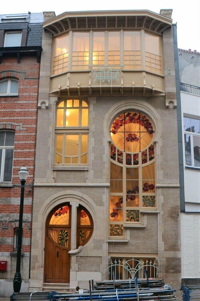 12. Дом в стиле модерн, Брюссель, Бельгия