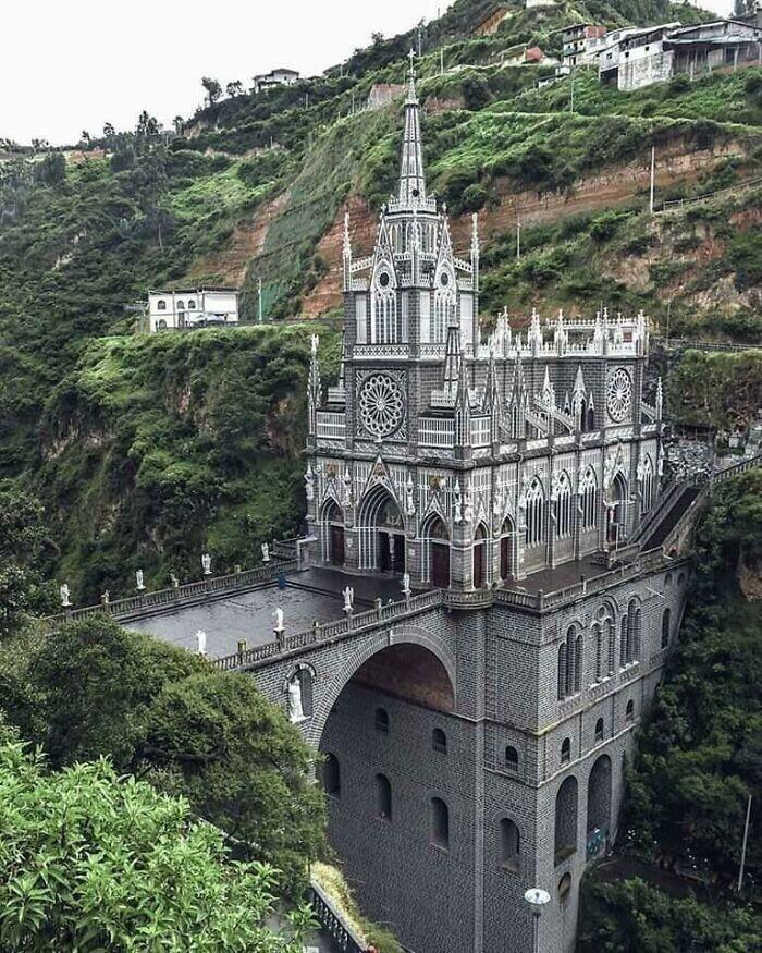 44. Церковь Лас-Лахас, базилика Богоматери, Нариньо, Колумбия