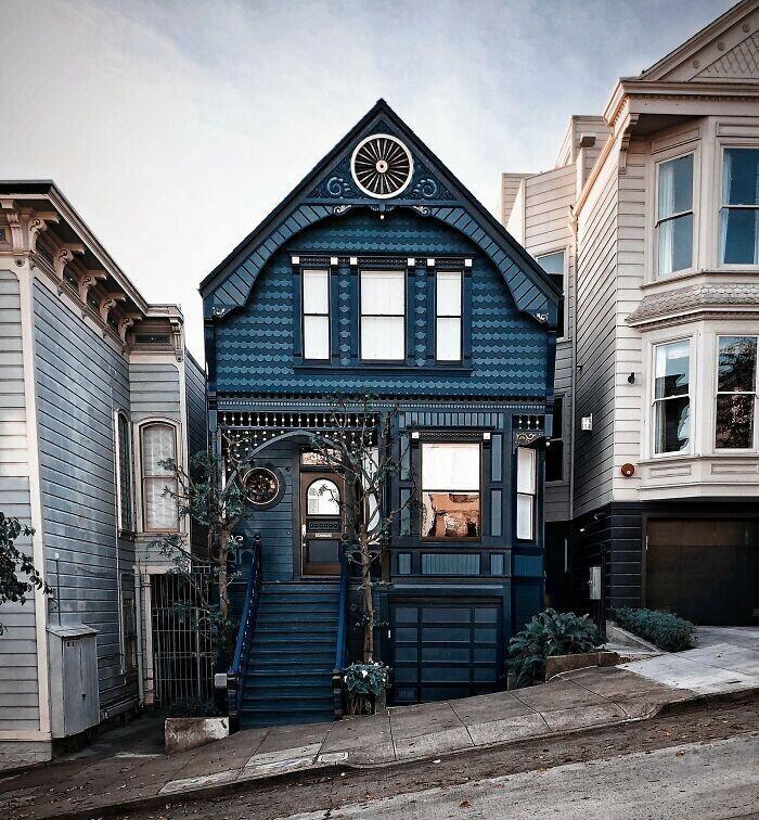 26. Викторианский дом в Сан-Франциско