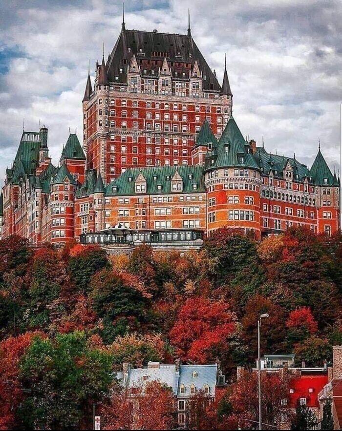 42. Отель в городе Квебек, Канада