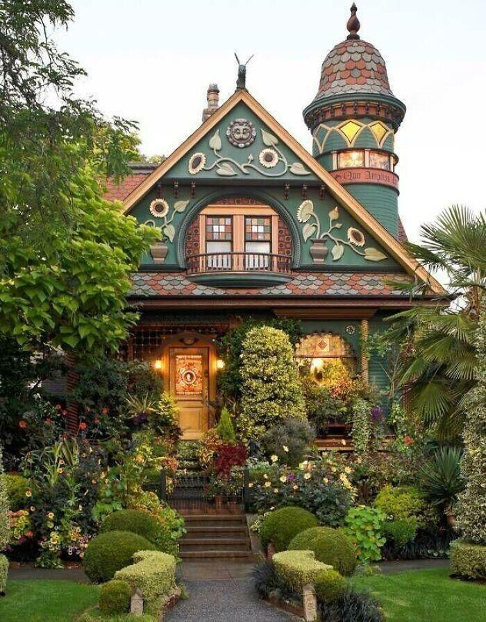 """17. Дом в Сиэтле в стиле American Craftsman (художественное движение """"Искусство и ремесла""""), начало 1900-х годов"""