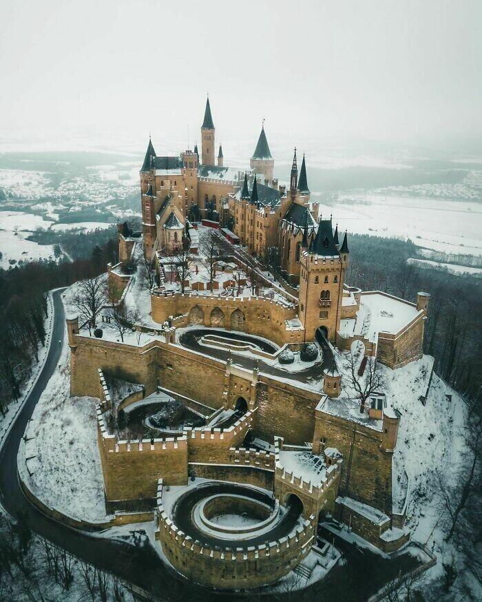 27. Замок Гогенцоллерн, Германия