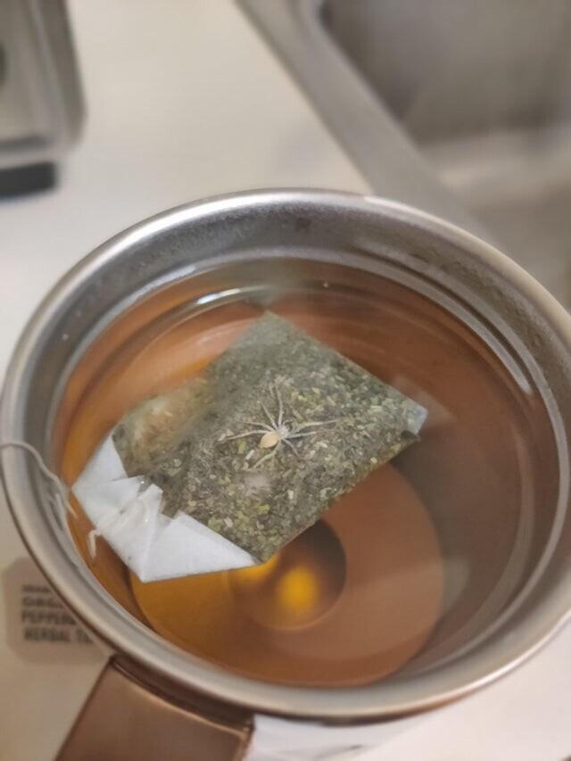 Больше чай я не пью