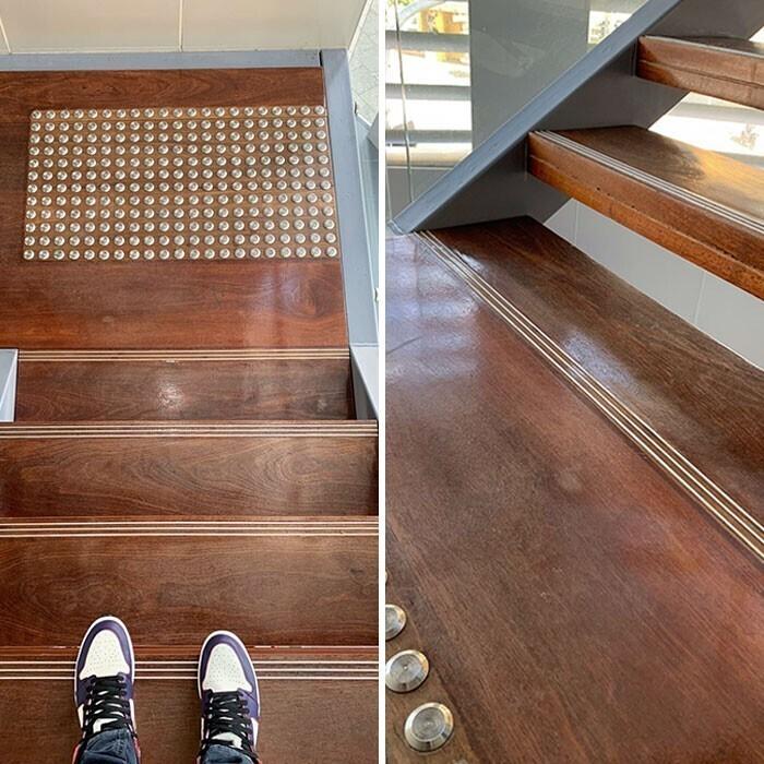 Лестница-подлянка