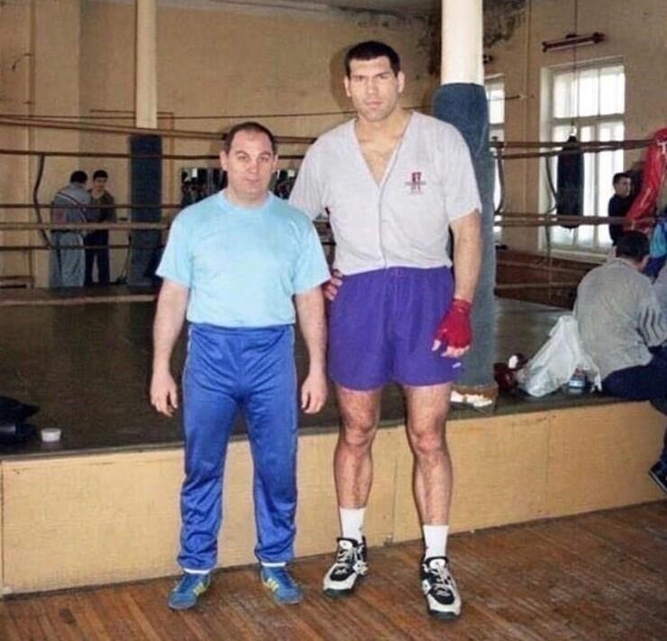 7. Николай Валуев в начале карьеры, 90-е