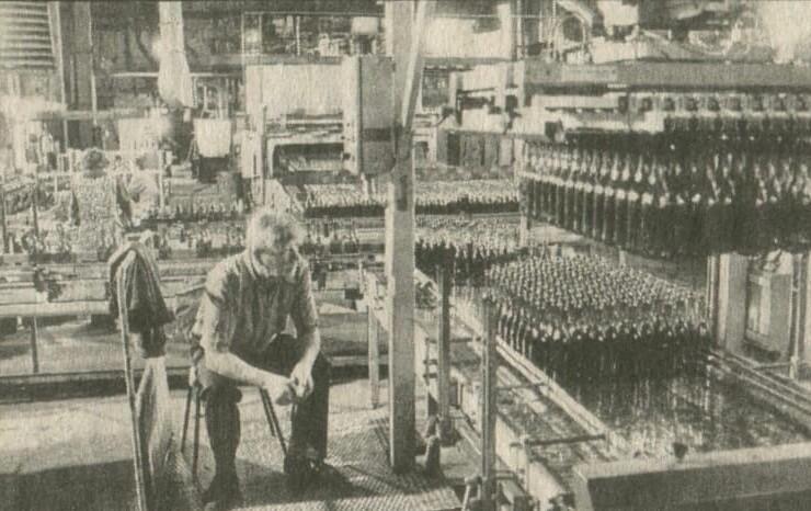 8. Московский Электроламповый завод. Вместо кинескопов начали отливать бутылки, 1998 год