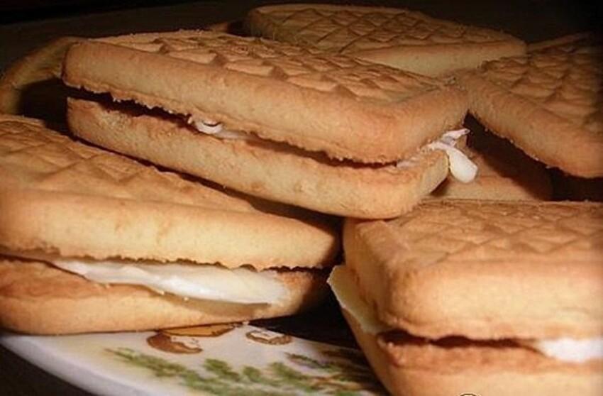 Печенье с маслом - лучшее лакомство