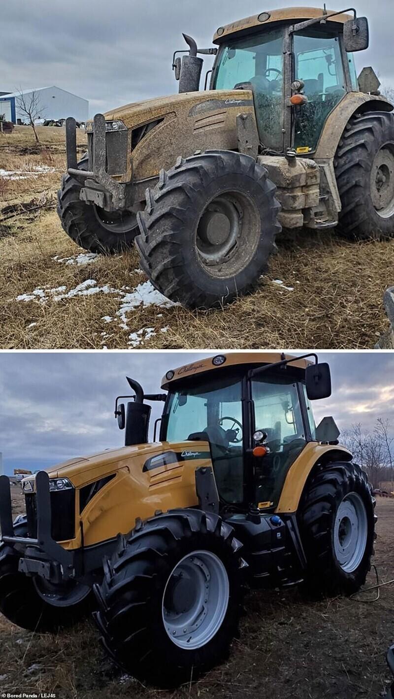 Привести в порядок трактор перед посевной - бесценно!