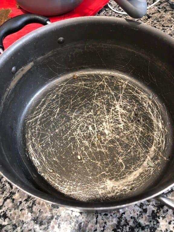 Муж готовил