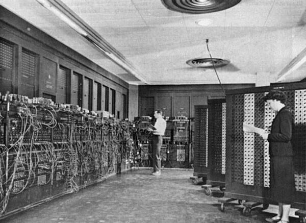 44. ENIAC, первый компьютер в истории